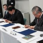 東北地方整備局との連携協定調印