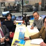 NHKラジオに出演