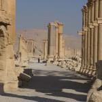 パルミラ神殿、無残に爆破。怒りで体が震える