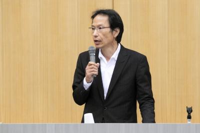 ご講演頂いた姜尚中教授