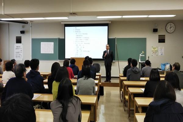 11月9日開催の保護者のための就職セミナー(分科会・法律学科)